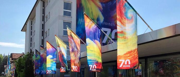 Heimgartner Fahnen AG: Ihre Fahnenfabrik seit 70 Jahren