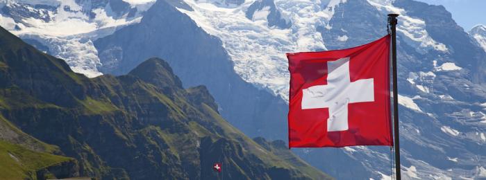 Schweizer Nationalfahne