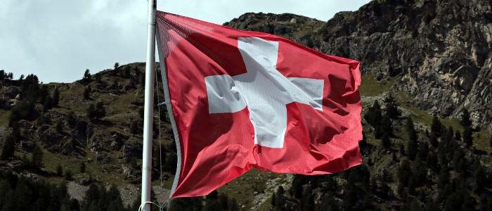 Fahne Schweiz: Nach wie vor ein beliebtes Symbol