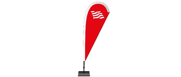 Beachflags Schweiz: Machen Sie auf sich aufmerksam